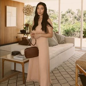 Sezane Silk Dress